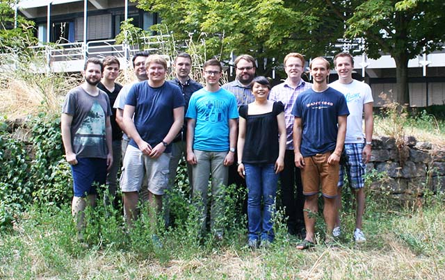 Lichtenberg Research Group in Summer 2015